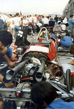 Ferrari 126C4 , Michele Alboreto.Zandvoort GP 1984