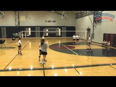 High School Volleyball Systems: Perimeter Defense with Nancy Dorsey - YouTube