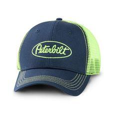 b55a9f6c4ae Peterbilt Hats - Peterbilt Caps - Peterbilt Motors Trucks Neon Green Mesh  Snapback Cap Peterbilt