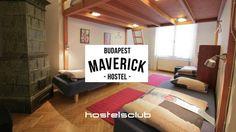 Maverick Hostel si trova in un maestoso edificio nel centro di #Budapest e dispone di stanze spaziose e ottimi servizi