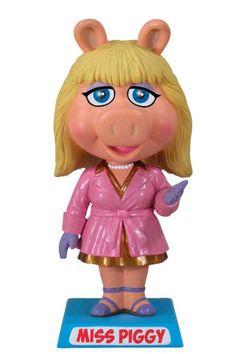 Cabezón Los Teleñecos (The Muppets) Cerdita Piggy, Funko Cabezón creado por Funko del personaje de la Cerdita Piggy (Miss Piggy), la protagonista femenina del programa de televisión Los Teleñecos (The Muppets).