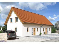Doppelhaus Aspekt 90 - #Doppelhaus von Town & Country Haus Lizenzgeber GmbH   HausXXL #Massivhaus #Energiesparhaus #klassisch #Satteldach