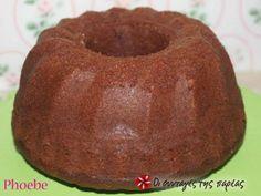 Κέικ με μπανάνες, καρύδια και σοκολάτα Quick Bread, Cooking Time, Tea Time, Caramel, Muffin, Pudding, Snacks, Breakfast, Sweet