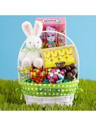 Personal Creations - this deluxe Easter basket has everything that you'll need. The name personalization is an added bonus!