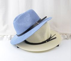 ==> [Free Shipping] Buy Best Men Women Straw Hats Wide Brim Leather Metal Stud Handsome Chapeau Jazz Cap Trilby Bowler Summer Hat For Women Chapeau Feminino Online with LOWEST Price | 32643290894