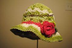Free Easter Crochet Hat Pattern
