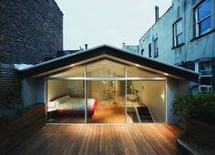 neat_and_compact_loft_bedroom_design- future idea to build on someone's terrace