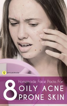 These Homemade face packs for acne and pimples that have been tried and tested to give amazing ...