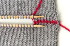 Strickteile verbinden – Teil 2: Im Maschenstich glatt rechte Teile verbinden   buttinette Blog