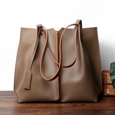 ddb8ec6d598e Brown Soft Leather Tote Large Real Leather Shopper Bags   largeleatherhandbagsuk Tote Purse