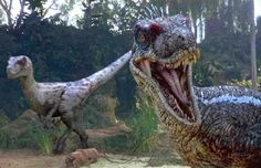 Sorry, but a pack of Velociraptors tore you apart. Would You Survive Jurassic World? Cool Dinosaurs, Prehistoric Dinosaurs, Prehistoric Creatures, Michael Crichton, Jurassic World 2015, Jurassic Park Film, Jurassic Movies, Dinosaur Photo, Dinosaur Art