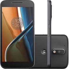 Smartphone Motorola Moto G 4 Dual Chip Android 6.0 Tela 5.5'' 16GB Câmera 13MP - Preto http://compre.vc/v2/2c09fbce #PreçoBaixoAgora #MagazineJC79