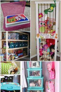 25 Genius Ways to Organize Toys