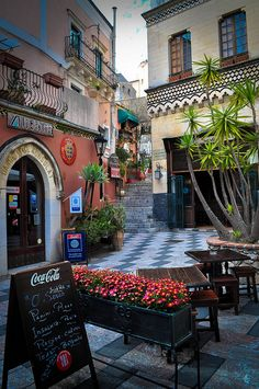 Central Taormina , Italy
