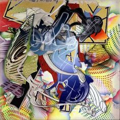 Frank Stella, Cantahar, Mixed media on canvas, 396 x 396 cm Frank Stella Art, Frieze Art Fair, Jr Art, Royal Academy Of Arts, Whitney Museum, Museum Of Contemporary Art, Art Archive, London Art, Mixed Media Canvas