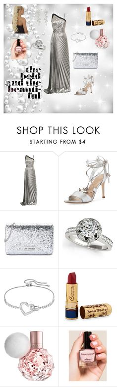 """""""Vanity Fair Oscar Party! ❤️❤️❤️"""" by caitylovesfashion99 ❤ liked on Polyvore featuring Thierry Mugler, Loeffler Randall, Love Moschino, Swarovski, Bésame and Francesca's"""