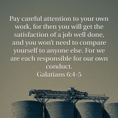Galatians 6:4-5
