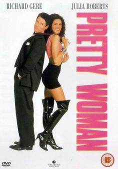 Pretty Woman [1990]  ~ Richard Gere, Julia Roberts -- A man in a legal but hurtful business needs an escort for some social events, and hires a beautiful prostitute he meets... only to fall in love.
