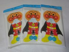 ×3 set Lotion Tissues Anpanman 240 sheets Nepia Hana Celeb  Fresh Pulp Japan F/S #NEPIAJAPAN