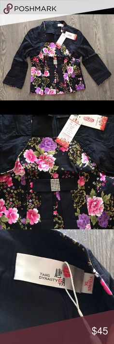Brand new with tag floral prints top Brand new with tag! Tops