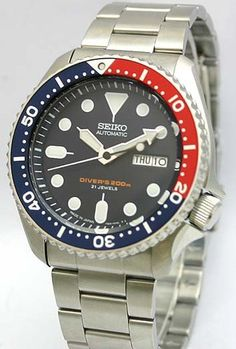 Seiko Automatic Divers Made in Japan SKX009J4-Oyster