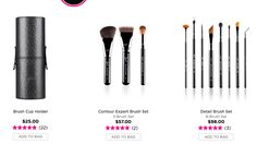 Sigma Beauty 35% off select items + free shipping