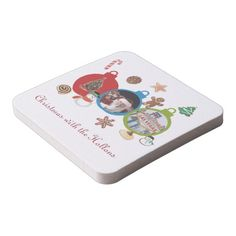 Christmas with the Hollons Las Vegas Coasters. Personalize your own coaster using your own name!! Great Gift or great for parties in your own home!!!  http://www.zazzle.com/christmas_with_the_hollons_las_vegas_coasters-256427559495087832