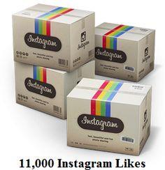 11,000 Instagram Likes