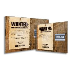 Looking for real estate referrals?  Our WANTED series of referral postcards are just the thing!
