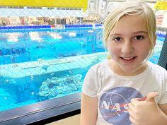 Houston Space Center in Texas - Neutral Buoyancy Laboratory Tour Visit Houston, Visit Texas, Houston Space Center, Kennedy Space Center, Educational Games, Spring Break, Big Kids, Stuff To Do, Neutral