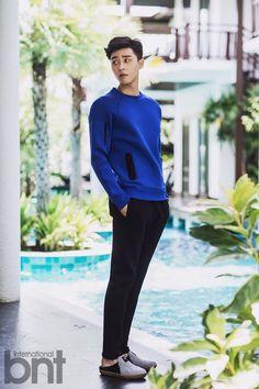 Park Seo Joon - bnt International October Issue '14