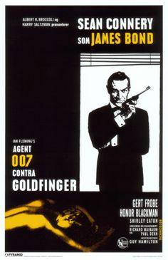 James Bond - Goldfinger - Window Masterprint at AllPosters.com