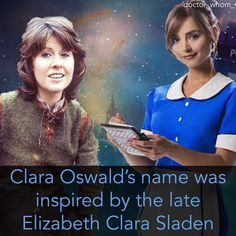 Comment any emoji if you want to be tagged in my next fact. #doctorwhofacts #doctorwhom #doctorwho #claraoswald #elizabethsladen…