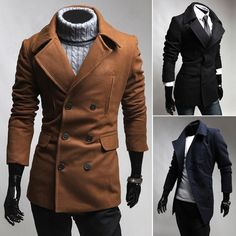 Men's clothing coats jackets