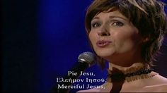 """""""Pie Jesu"""" (Pious, Merciful, .Jesus)...... Andrew Lloyd Webber, in his Requiem, combined the text of the Pie Jesu with that of the version of the Agnus Dei,(Lamb of God), formerly appointed to be used at Requiem Masses. Merciful Jesus, Who takes away the sins of the world, Grant them perpetual rest....Lamb of God, Who takes away the sins of the world, Grant them perpetual rest...Everlasting Rest.(from Wikipedia)....... MAY OUR GOOD GOD GRANT ETERNAL REST TO THOSE WE LOVE! Youtube"""