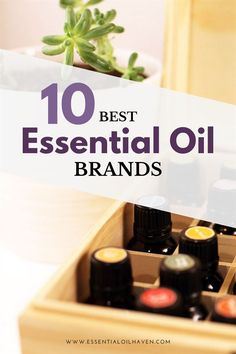 10 Best Essential Oil Brands In 2020 Essential Oil Companies, Essential Oils For Sleep, Best Essential Oils, Essential Oil Uses, Edens Garden Essential Oils, Easential Oils, Doterra Oils, Essential Oil Diffuser Blends, Aromatherapy Oils