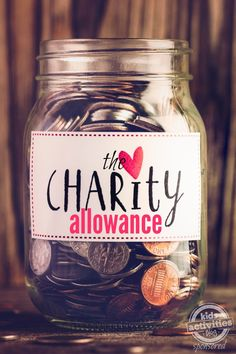 We created a charity allowance for our kids - here is how it works.
