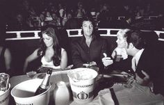 1969 7 31 Elvis & Priscilla Presley - Barbra Streisand's Vegas show