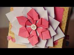 Flor Decorativa FACIL // Scrapbook & Origami