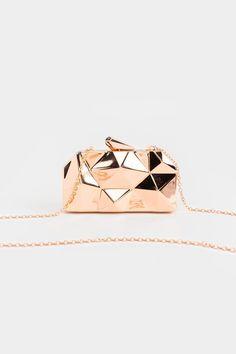 Rosie Angular Hard Case Clutch Purse Wallet, Air Max, Rose Gold, Handbags, Purses, Wallets, Outfit, Women, Hair