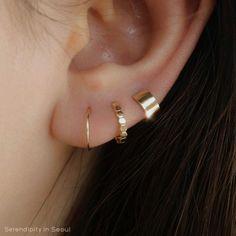 Piercing Imitation Black Criss Cross Ear Ring/Cartilage X Ear Cuff/twisted X ear hoops/fake conch ear piercing/ohrclip oreille manchette - Custom Jewelry Ideas Gold Hoop Earrings, Crystal Earrings, Crystal Jewelry, Sterling Silver Earrings, Diamond Earrings, Silver Jewelry, Fine Jewelry, Silver Ring, Small Earrings
