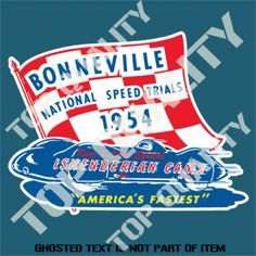 1954 Bonneville National Speed Trials. Iskenderian Cams. David Conwill · Pith  Helmet 69ee56ad3a58