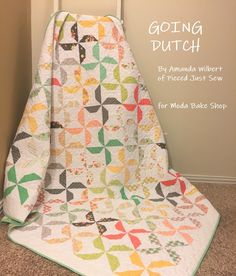 Going Dutch Quilt « Moda Bake Shop charm pack Quilting Tips, Quilting Projects, Quilting Designs, Sewing Projects, Quilt Patterns Free, Free Pattern, Block Patterns, Charm Pack Patterns, Going Dutch