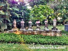 #Jizo statues @ The Japanese Cemetery Park {日本人墓地公園} #singapore #places #thingstodo #sgmemory