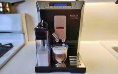 Review of the DeLonghi Eletta Automatic Espresso/Cappuccino Maker - Techlicious Cappuccino Maker, Cappuccino Machine, Espresso Maker, Espresso Machine, Coffee Maker, Nespresso Lattissima, Latte Macchiato, Drip Tray, Fun Gifts