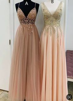 V Neck Champagne Long Party Dress from modseleystore Elegant V Neck Champagne Long Formal Dresses. Which one do you prefer?Elegant V Neck Champagne Long Formal Dresses. Which one do you prefer? Elegant Dresses, Women's Dresses, Long Dresses, Dresses Online, Dress Long, Fall Dresses, Summer Party Dresses, Short Evening Dresses, Long Party Dresses