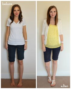 easy tutorial for turning pants (or shorts) into maternity wear Merricks Art: Maternity Pants (Tutorial)