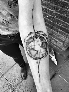 Inez Janiak sketch tattoos