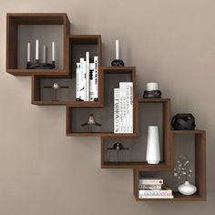 Ver el producto Home Decor Furniture, Diy Home Decor, Furniture Design, Room Decor, Bookshelf Design, Wall Shelves Design, Regal Retro, Home Interior Design, Interior Decorating