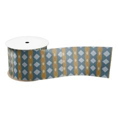 Brown and blue thin and thick line with diamond shapes that give it a trendy and modern looks. You can also customize it to get a more personal look. #colorful #trendy #modern #decorative #abstract #abstract-pattern #stylish #tribal #diamond #blue #brown #ziernor